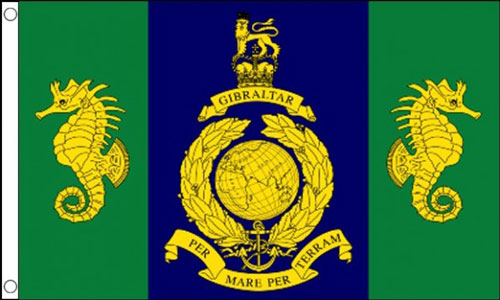 Royal Marines Logistic Regiment Flag