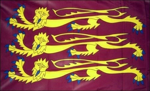 5ft by 8ft King Richard The Lionheart Flag