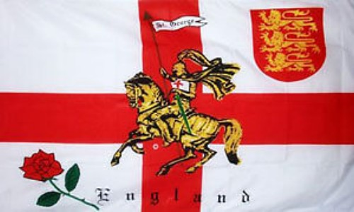 England Rose Lion Flag Special Offer