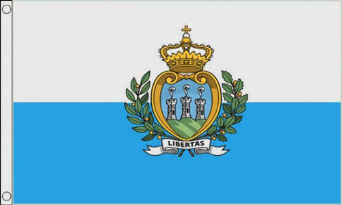 2ft by 3ft San Marino State Flag
