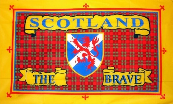 2ft by 3ft Scotland The Brave Flag