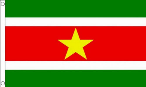 2ft by 3ft Suriname Flag