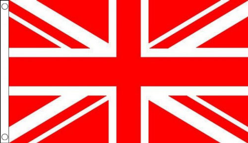 Red and White Union Jack Flag