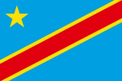 2ft by 3ft Democratic Republic of Congo Flag