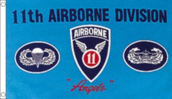 US 11th Airborne Division Flag