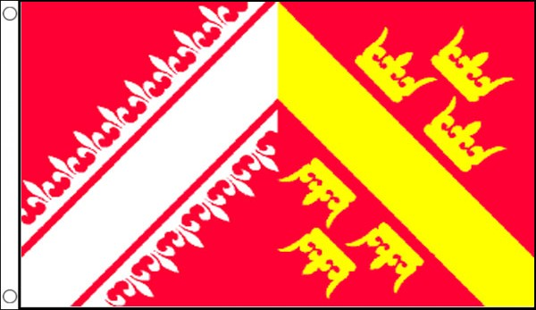 2ft by 3ft Alsace Flag