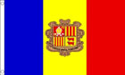 2ft by 3ft Andorra Flag