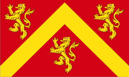 2ft by 3ft Anglesey Flag