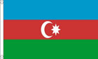 2ft by 3ft Azerbaijan Flag