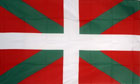 2ft by 3ft Basque Flag
