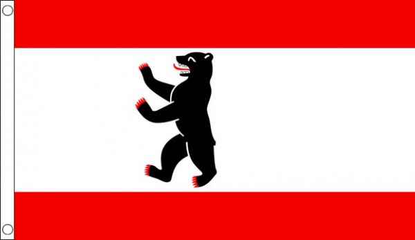 2ft by 3ft Berlin Flag
