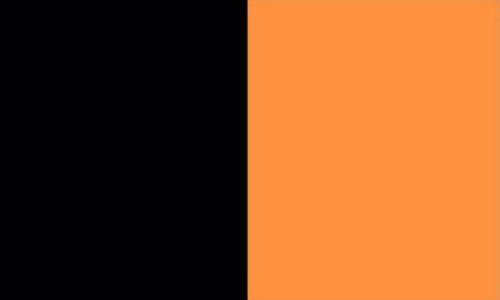 Kilkenny Flag Black and Dark Amber