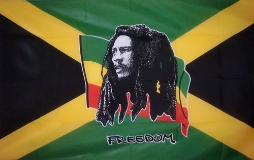 2ft by 3ft Bob Marley Flag