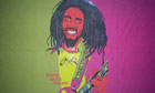 Bob Marley Flag Guitar Design Only A Few Left