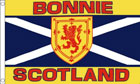 2ft by 3ft Bonnie Scotland Flag