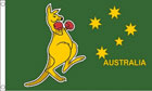 2ft by 3ft Australia Boxing Kangaroo Flag