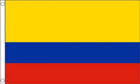 5ft by 8ft Colombia Flag