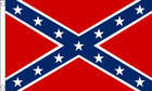 2ft by 3ft Confederate Flag