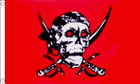 Crimson Pirate Flag