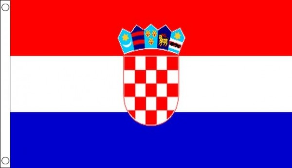 2ft by 3ft Croatia Flag