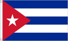 5ft by 8ft Cuba Flag