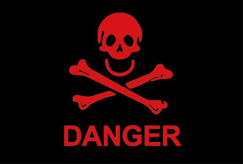 Pirate Danger Flag
