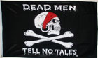 Dead Men Tell No Tales Pirate Flag Only A Few Left