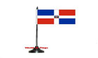 Dominican Republic Table Flag