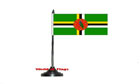 Dominica Table Flag