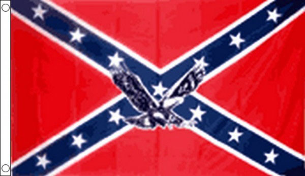 Confederate Eagle Flag Only A Few Left