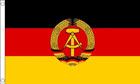 2ft by 3ft East Germany Flag