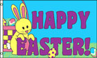 Happy Easter Flag Easter Bunny Flag Special Offer