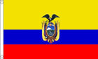 2ft by 3ft Ecuador Flag