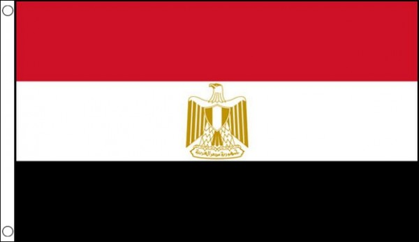 2ft by 3ft Egypt Flag