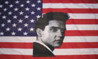 2ft by 3ft USA Elvis Flag