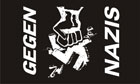 Gegen Nazis Flag ( Anti Nazi ) Only A Few Left
