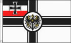 German Imperial Flag With Crest