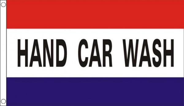 Hand Car Wash Flag Only A Few Left