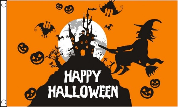 Happy Halloween Flag SPECIAL OFFER