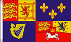 Royal Banner Flag 1714 to 1801 House of Hanover