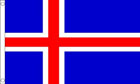 2ft by 3ft Iceland Flag
