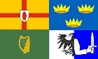 5ft by 8ft Ireland 4 Provinces Flag