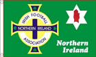 Northern Ireland Football Association Flag