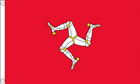 2ft by 3ft Isle of Man Flag
