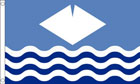 Isle of Wight Flag Waves Flag