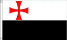 Knights Templar Battle Flag