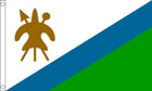 Lesotho Flag OLD Only A Few Left