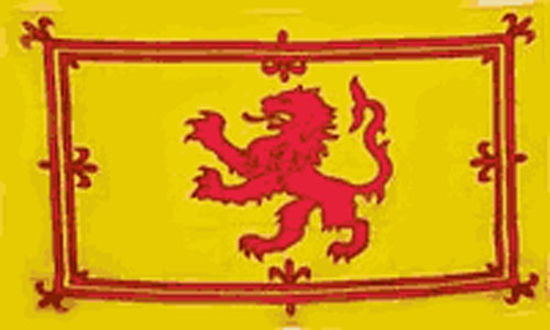 2ft by 3ft Scotland Lion Rampant Flag