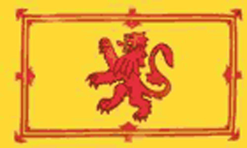5ft by 8ft Scotland Lion Rampant Flag