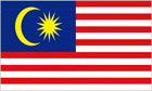 2ft by 3ft Malaysia Flag
